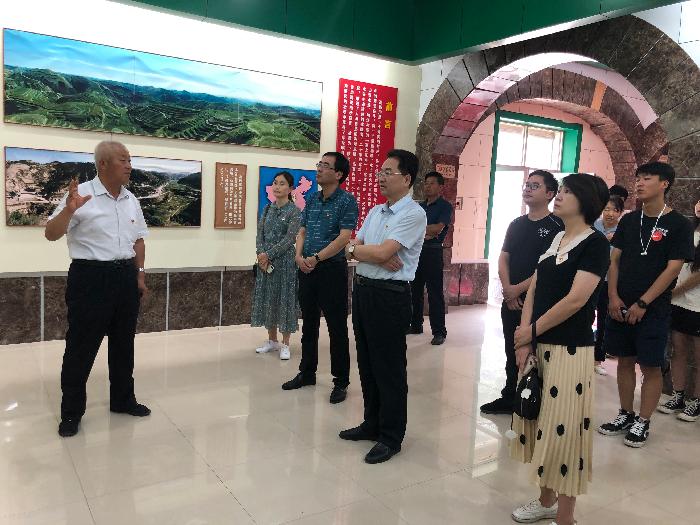 中西医临床医学系教工党支部赴高西沟、杨家沟接受党史教育